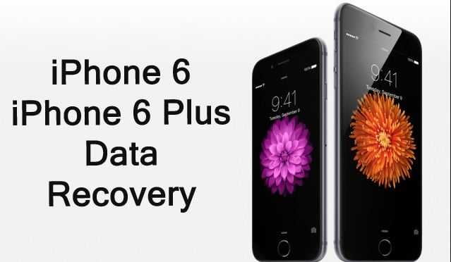 Recover Data From iPhone 6 and iPhone 6 Plus