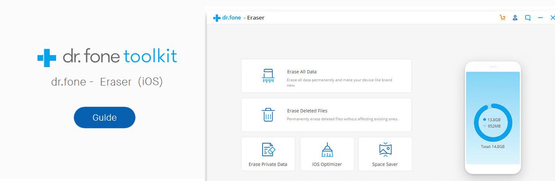 iOS Data Eraser User Guide