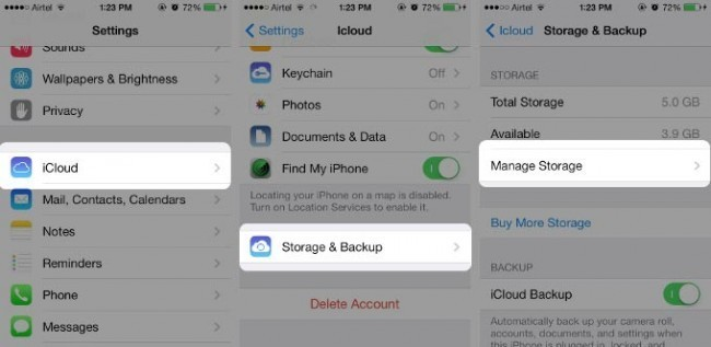 iCloud error Photos and Videos fail to restore