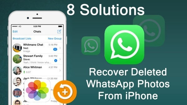 How To Retrieve Deleted WhatsApp Pictures from iPhone