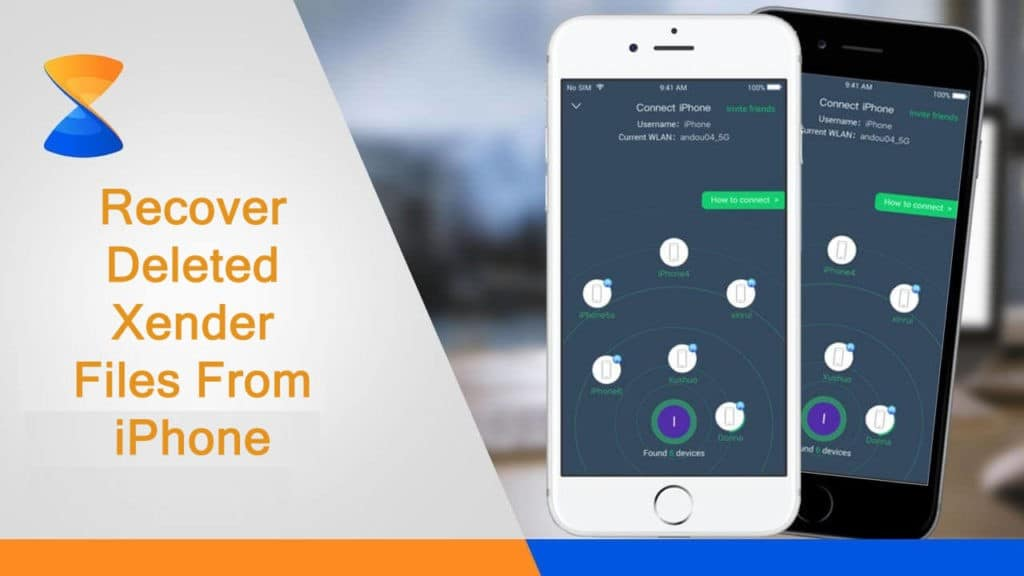 Xender File Recovery For iOS