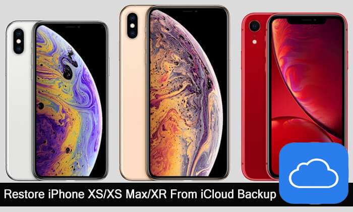 Restore iPhone XS, XS Max, XR From iCloud Backup