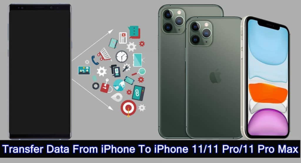 How To Copy Data From iPhone To iPhone 11, 11 Pro or iPhone 11 Pro Max