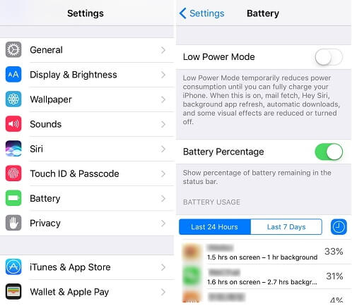 Check Battery Usage On iPhone