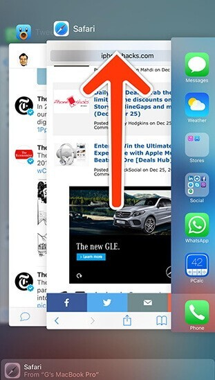 Close All Running Apps On iPhone