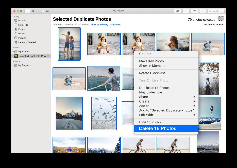 Erasing Duplicate Photos From iCloud By Using Duplicate File Finder