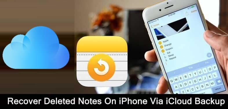 How To Recover Notes on iPhone From iCloud Backup
