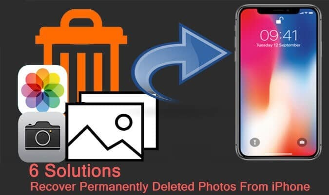 How To Retrieve Permanently Deleted Photos From iPhone