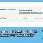 """How To Fix """"iTunes Is Downloading The Software For This iPhone"""" Stuck Issue"""