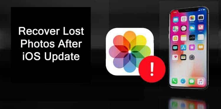 How To Recover Lost Photos After iOS Update