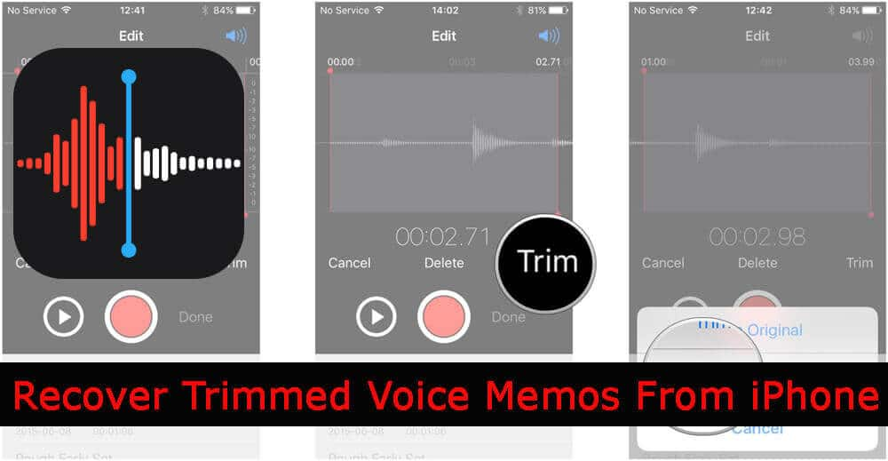 How To Recover Trimmed Voice Memos From iPhone