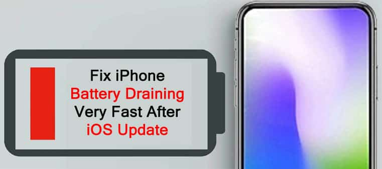 How To Fix iPhone Battery Draining Very Fast After iOS Update
