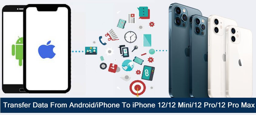 How To Transfer Data From iPhone or Android To iPhone 12, mini, 12 Pro or 12 Pro Max