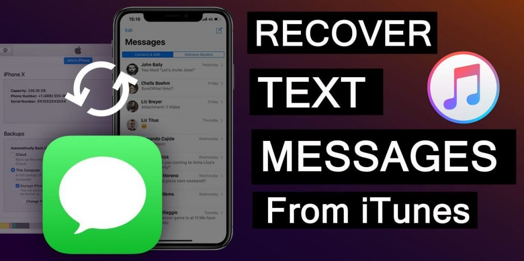 How To Restore Text Messages From iTunes Backup