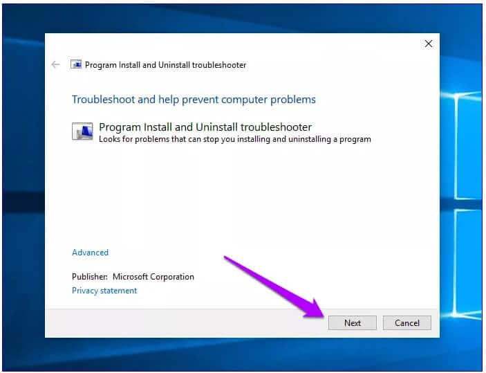 How To Fix Windows Installer Package Problem Via Microsoft Install And Uninstall Troubleshooter Program