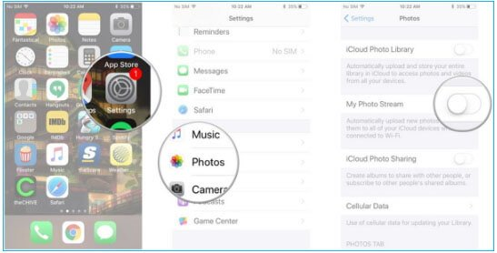 Restore iPhone Photos From My Photo Stream App