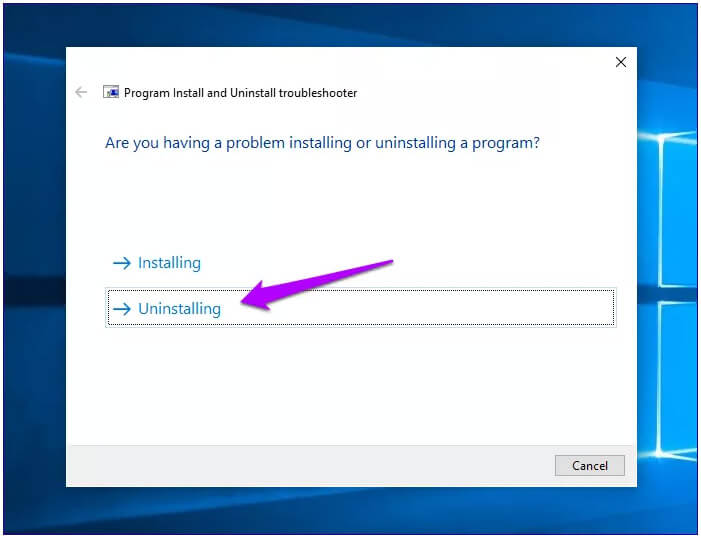 Solved Windows Installer Package Problem Via Microsoft Install And Uninstall Troubleshooter Program