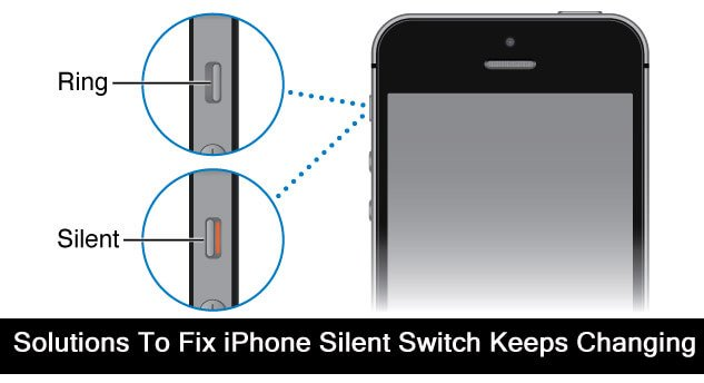 How To Fix iPhone Silent Switch Keeps Changing