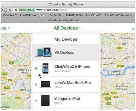 Unlock Disabled iPad Via Find My iPad Feature